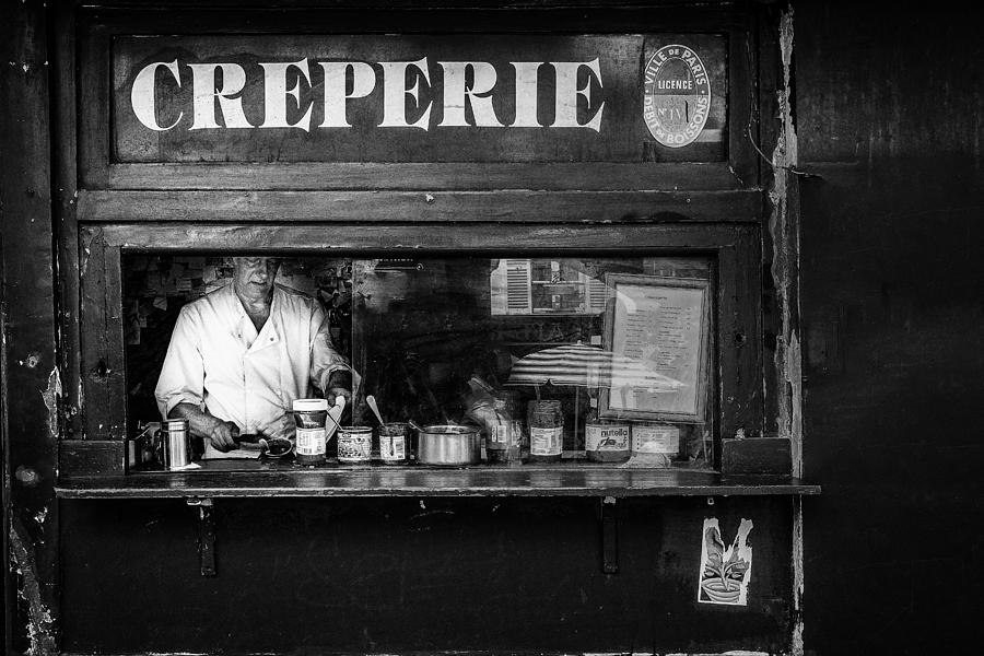 Creperie Photograph - Creperie Montmartre by Adam Weh