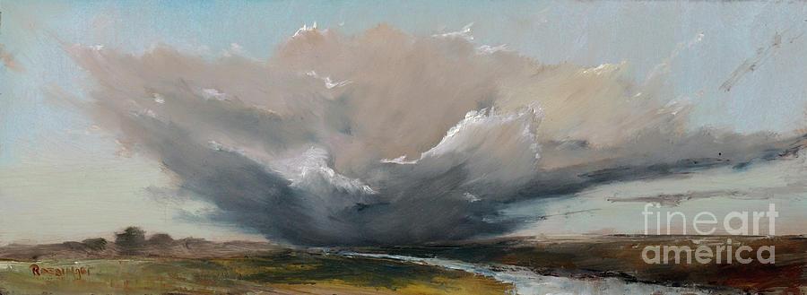 Crescendo Painting - Crescendo by Paint Box Studio