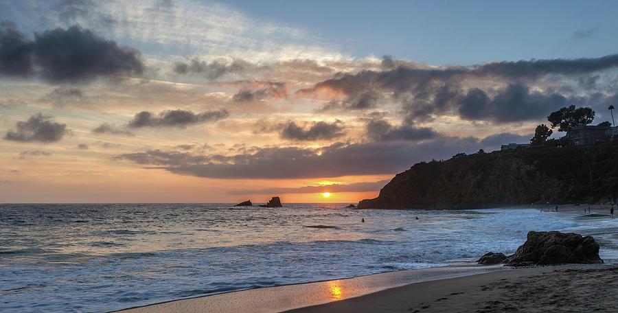 Crescent Bay September Sunset by Cliff Wassmann