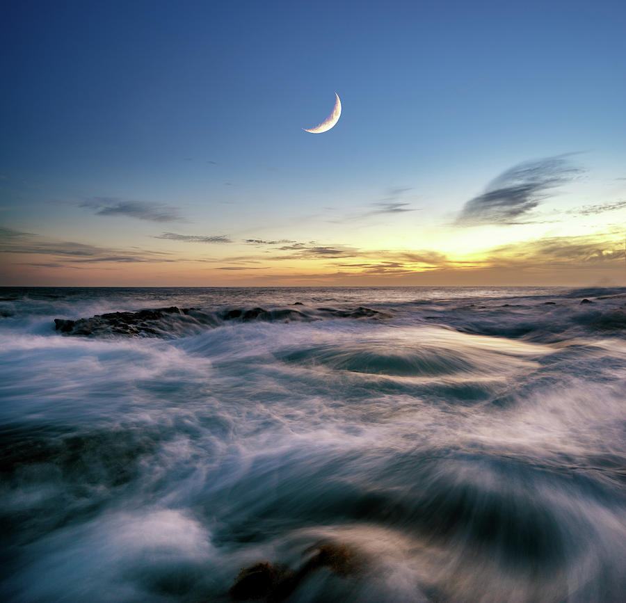 Crescent Moon by Christopher Johnson