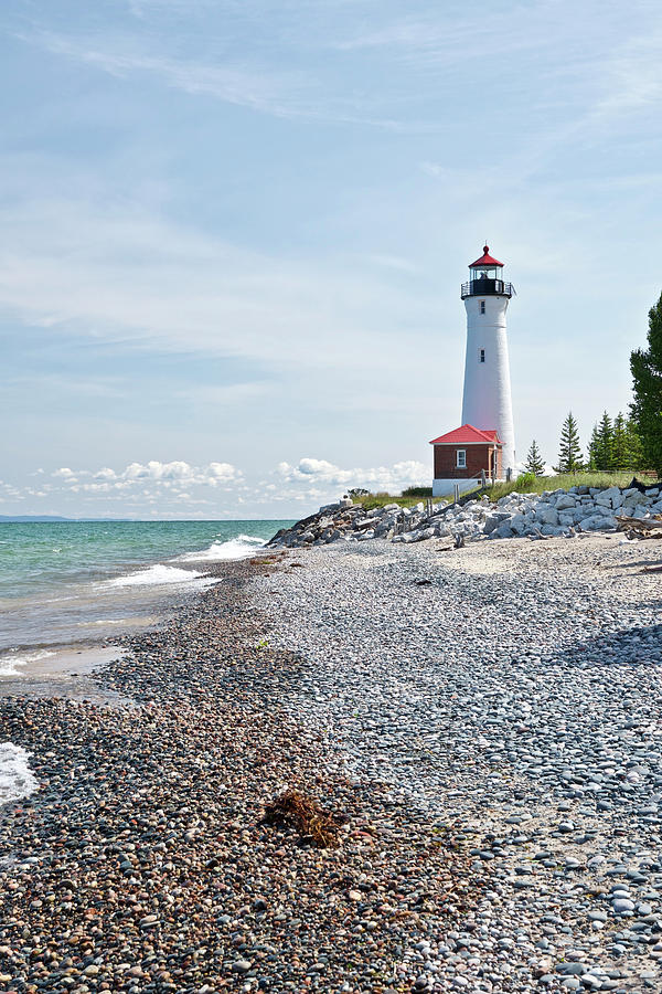 Crisp Point Lighthouse 7684 Photograph