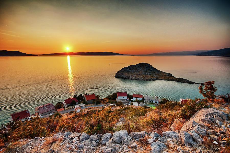 Croatia Adriatic Sea At Sveti Juraj Photograph by M3ss