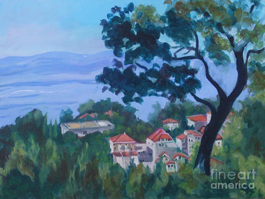 Croatia Landscape by Jan Bennicoff