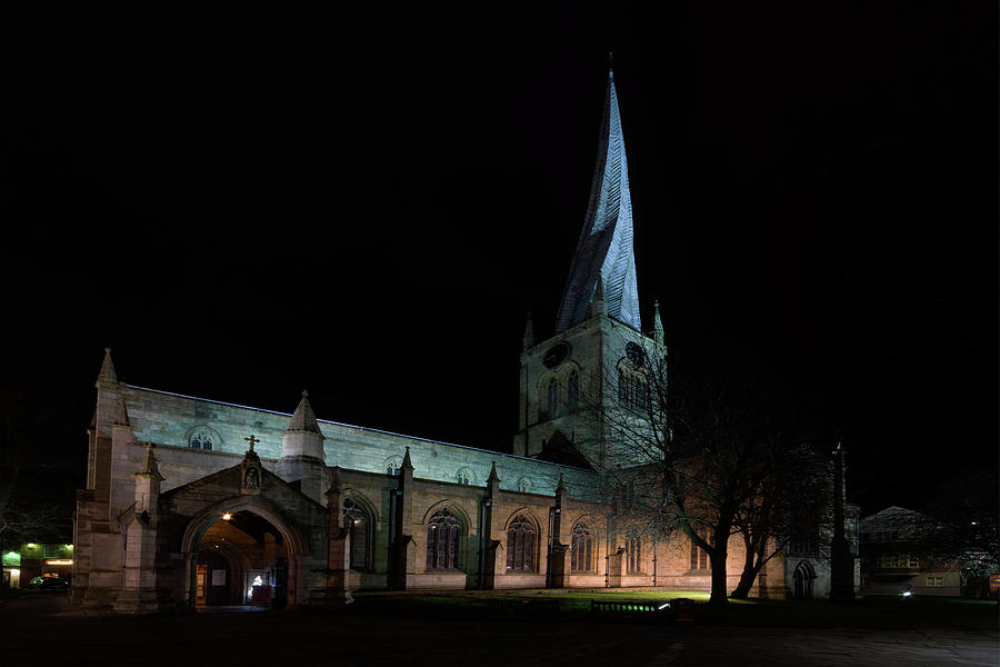 Crooked Photograph - Crooked Spire 3 by Steev Stamford