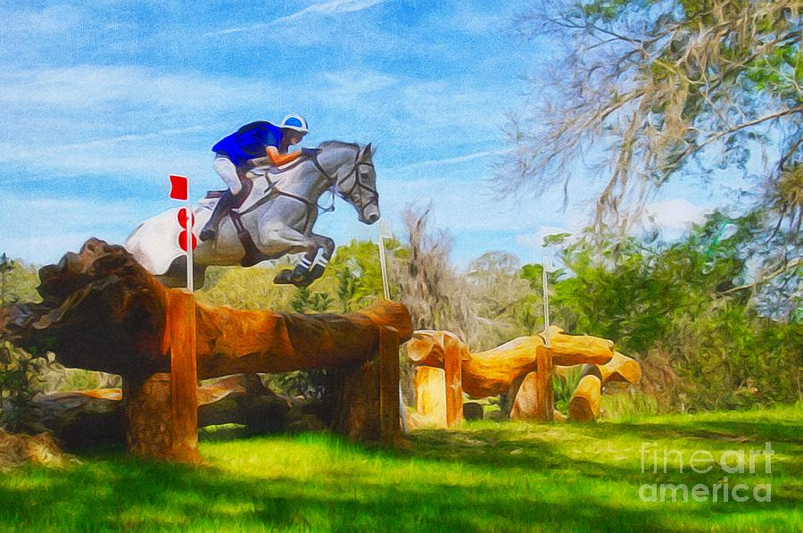 Cross Country Horse Trials by Paul Wilford
