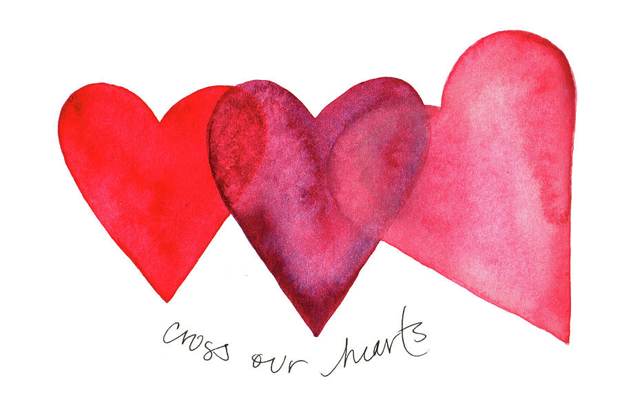 Cross our hearts by Anna Elkins