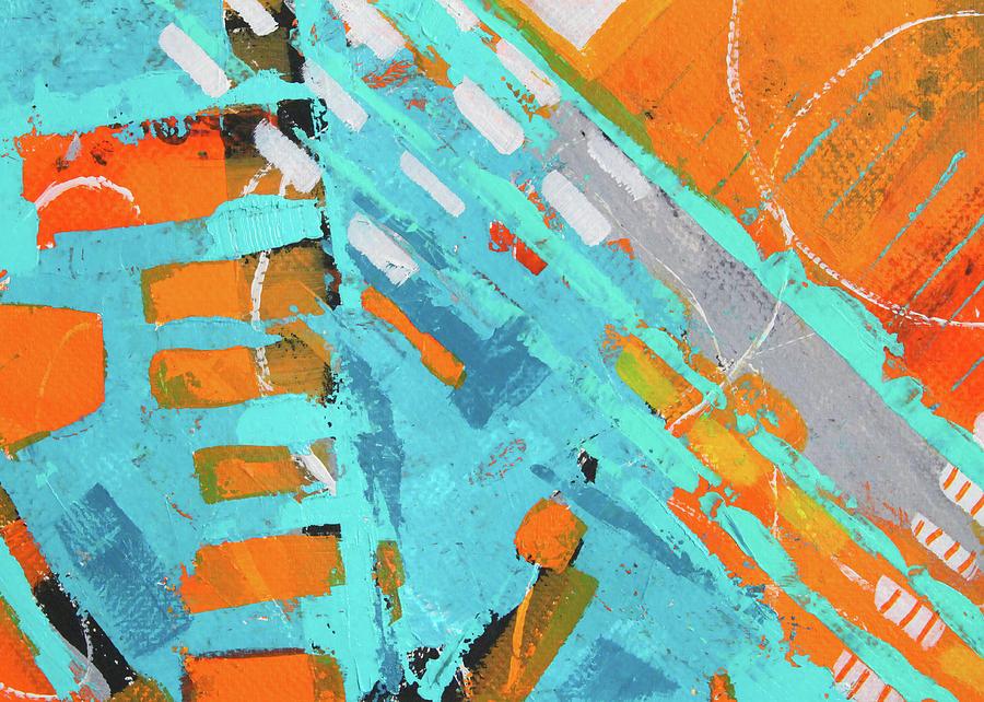 Cross Town Traffic 1 by Nancy Merkle