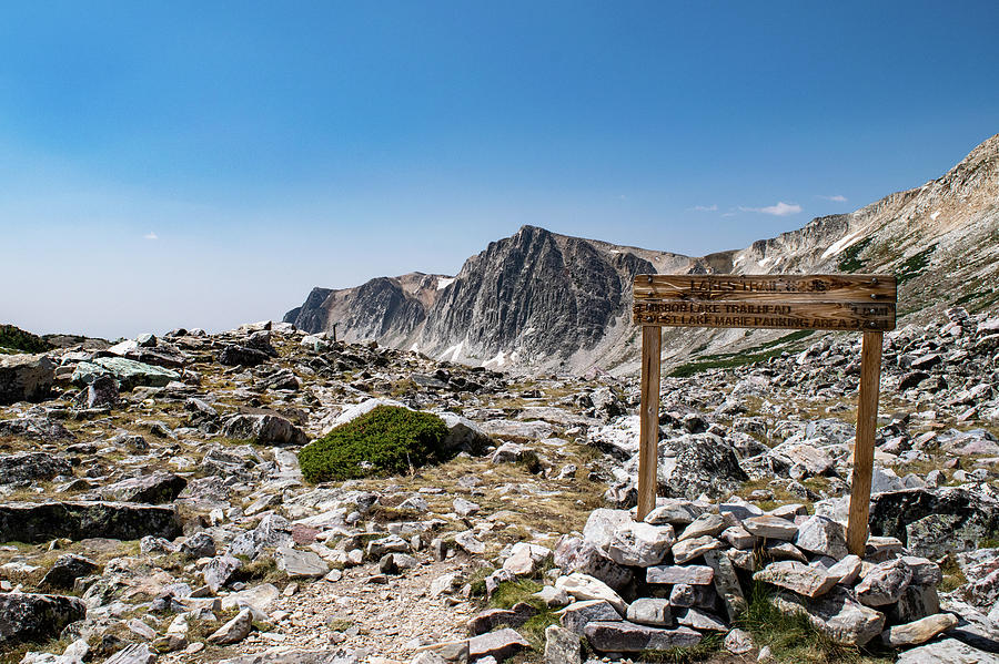 Crossroads at Medicine Bow Peak by Nicole Lloyd