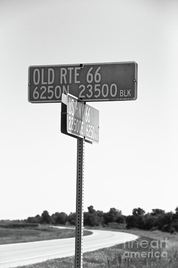 Crossroads of 66 by Suzanne Oesterling