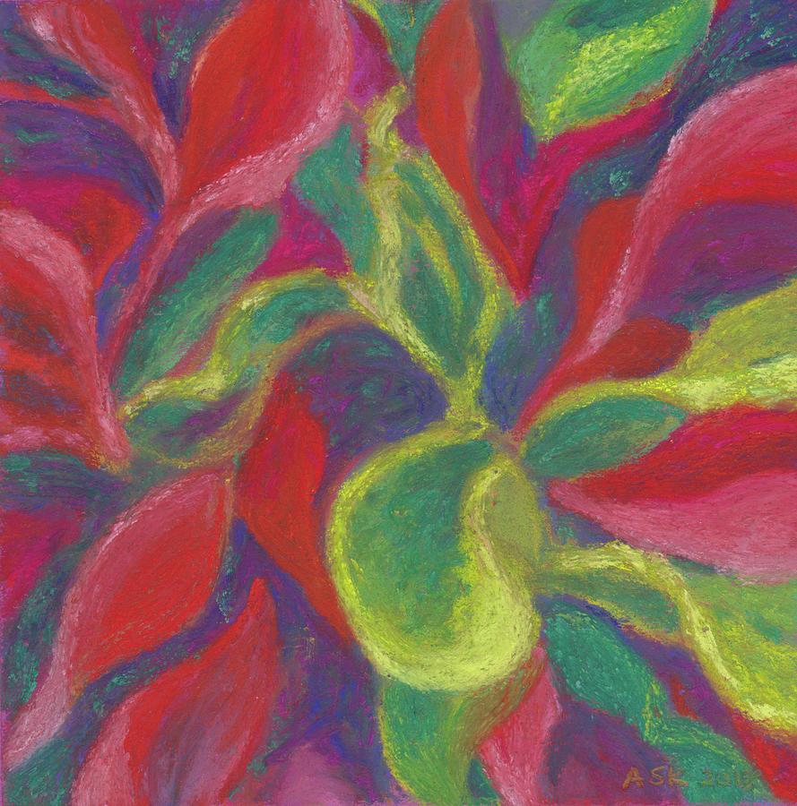 Crotons Catch My Eye by Anne Katzeff