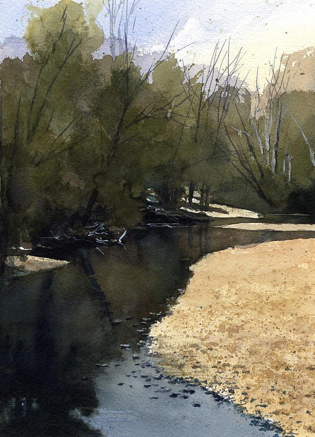 Crow Creek, Augusta, Missouri by James Faecke