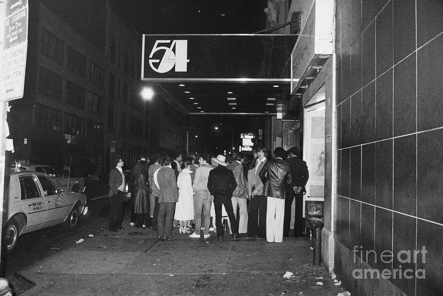Crowd Waiting Outside Studio 54 Photograph by Bettmann
