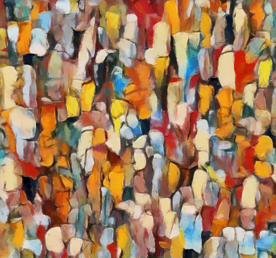 Crowds by Dan Sproul