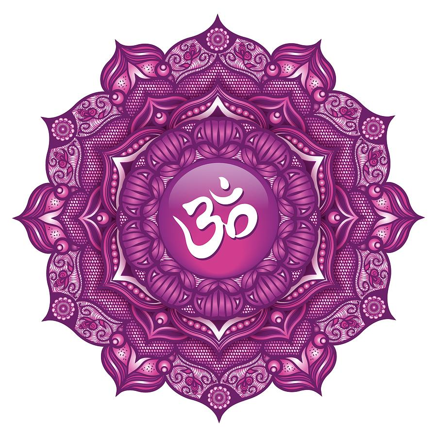 Crown Chakra Mandala #07 Digital Art by Serena King