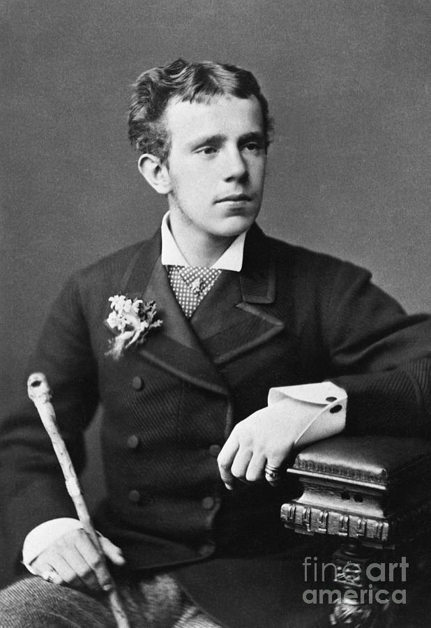 Crown Prince Rudolf Waist Up Photo Photograph by Bettmann