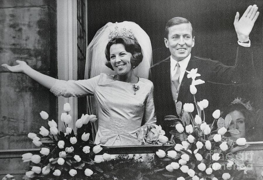 Crown Princess Beatrix And Claus Von Photograph by Bettmann