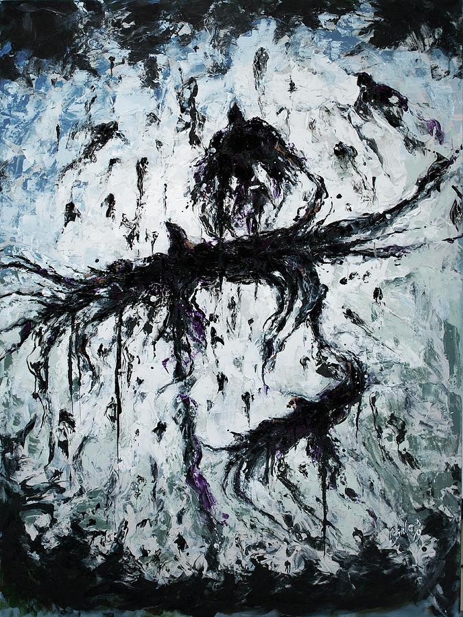 Crows Crossing by Carlos Flores