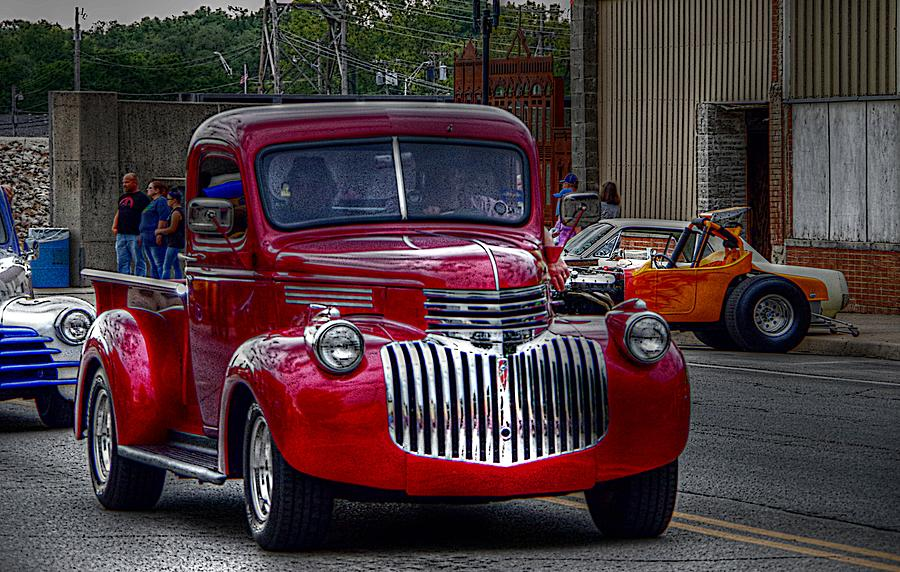 Cruise Night Trucking by Karen McKenzie McAdoo