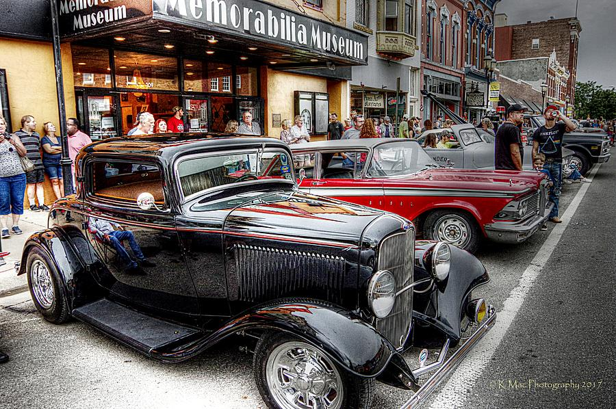 Cruise Night Vehicles by Karen McKenzie McAdoo
