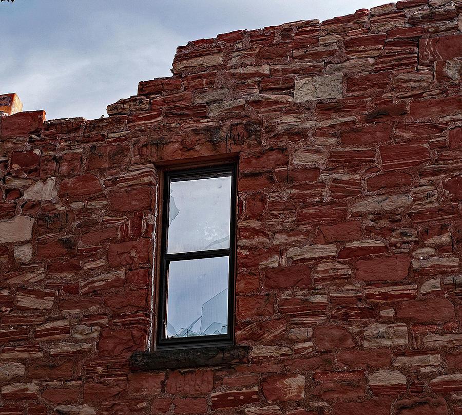 Crumbling Wall Of Calumet Photograph