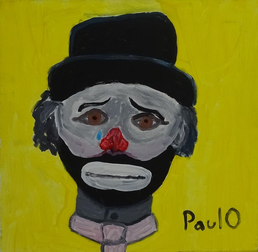 Crying Clown by Paul O