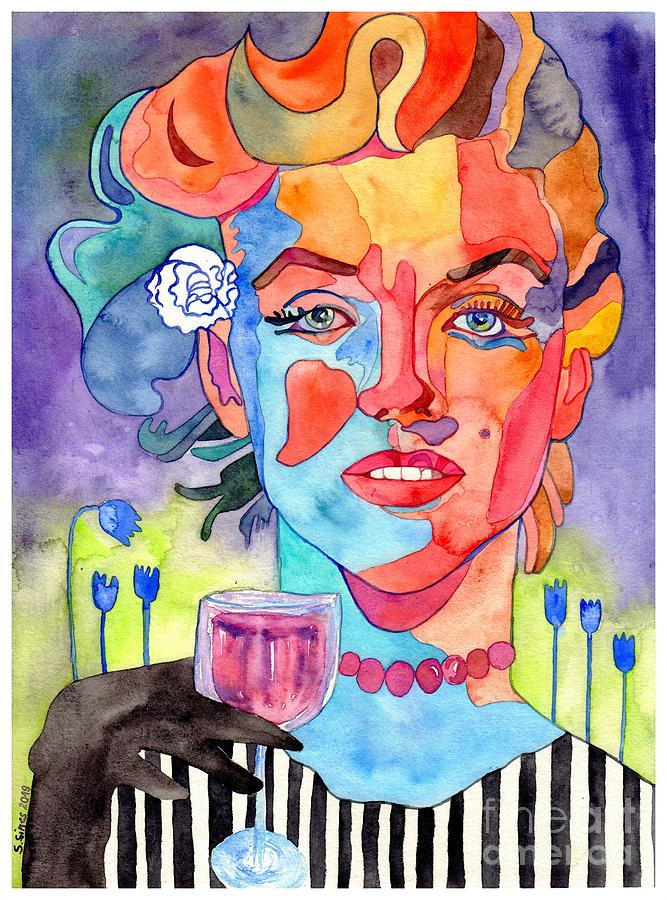 Marilyn Monroe Painting - Crying Marilyn by Suzann Sines