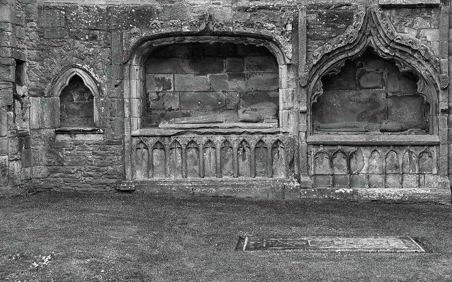 Crypts and Graves at Elgin Cathedral by Dave Mills