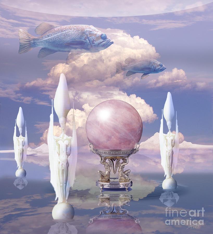 Crystal ball by Alexa Szlavics
