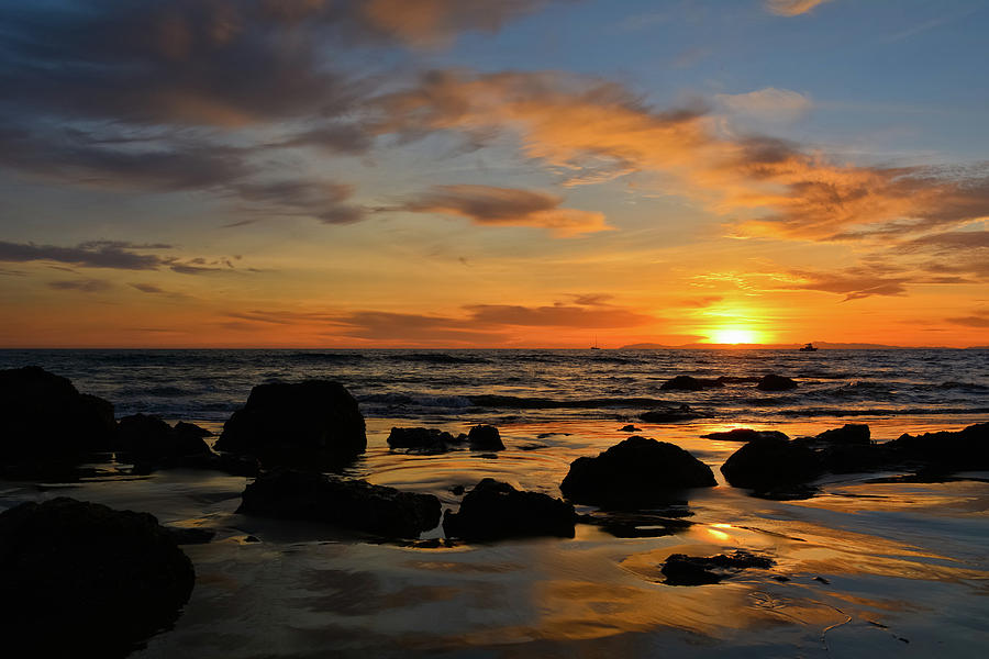Crystal Cove State Park Sunset by Kyle Hanson