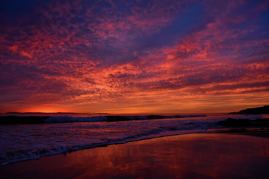 Crystal Cove Sunset Colors by Kyle Hanson