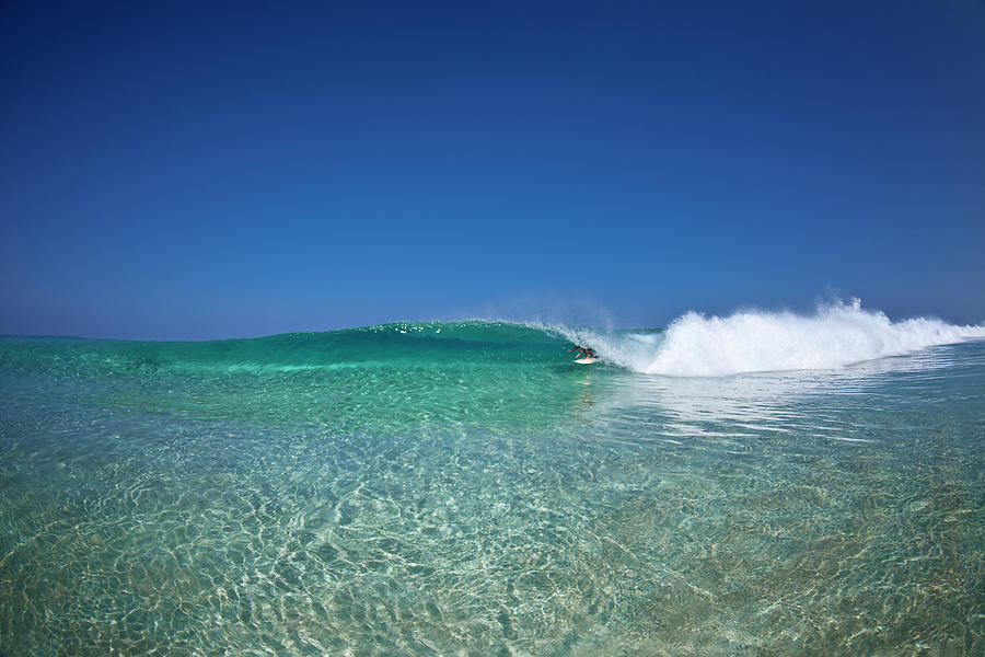 Surfing Photograph - Crystal Dreams by Sean Davey