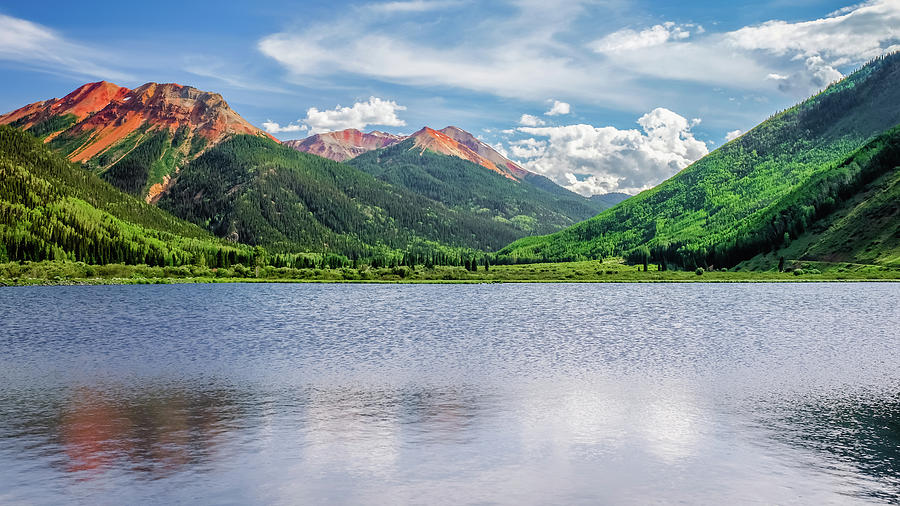 Crystal Lake Ouray Colorado by Robert Bellomy
