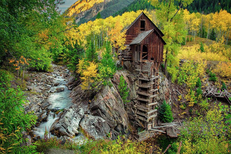 Crystal Mill by Emmanuel Panagiotakis
