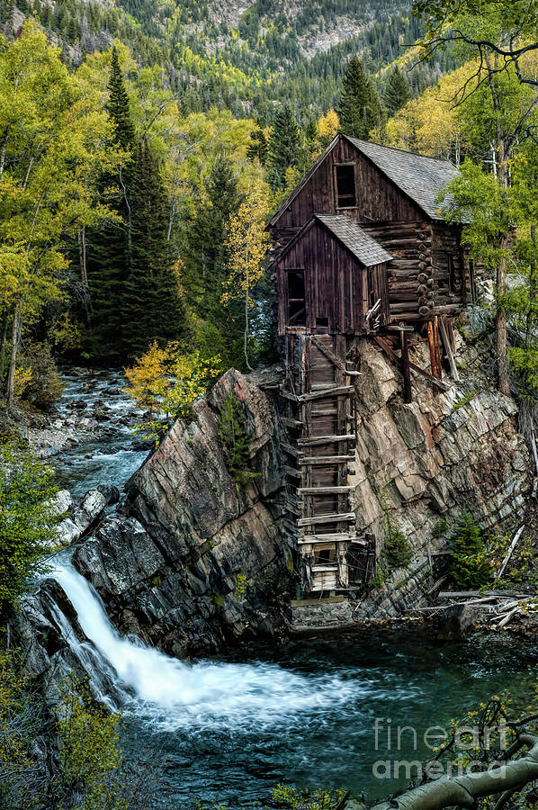 Crystal Photograph - Crystal Mill by Joe Sparks