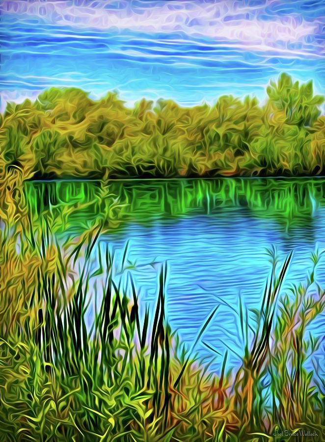 Crystal Mirror Reflections by Joel Bruce Wallach