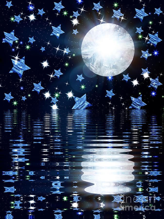 Crystal Moon River by Rachel Hannah