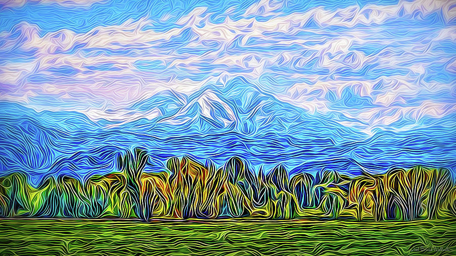 Crystal Mountain Clarity by Joel Bruce Wallach