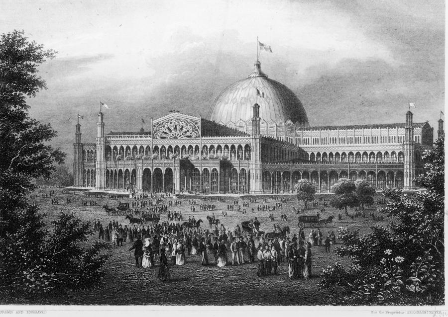 Crystal Palace Photograph by Fotosearch