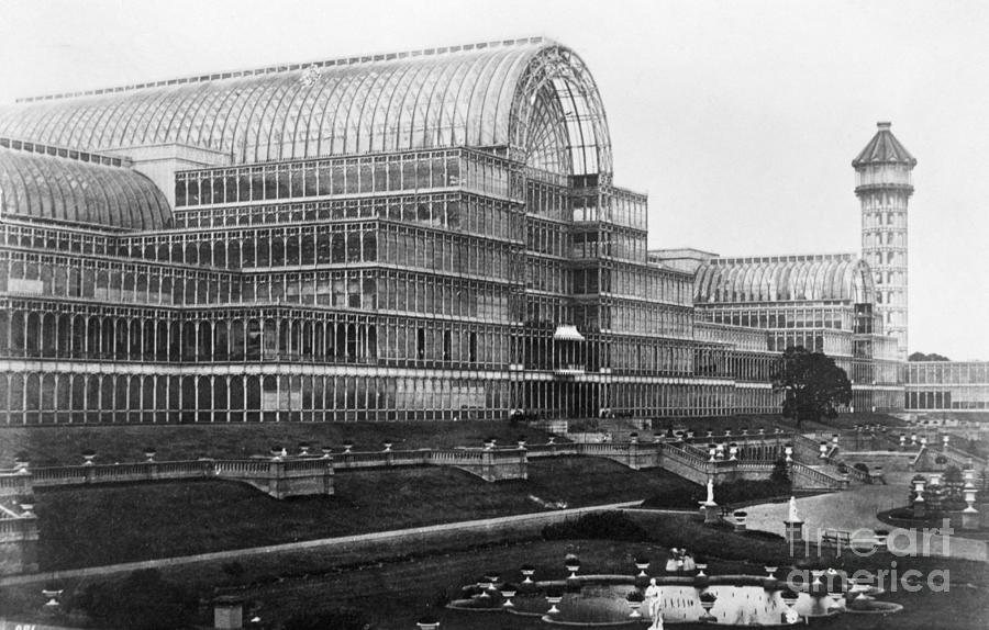Crystal Palace In London Photograph by Bettmann