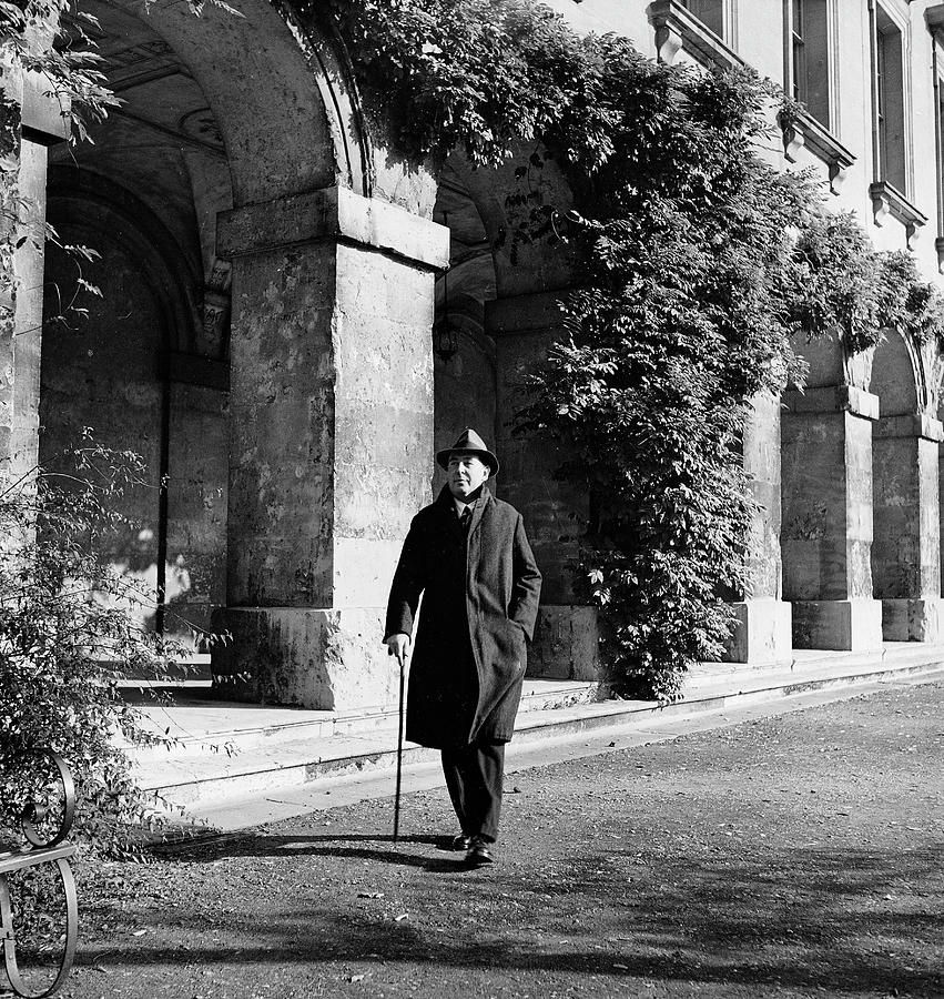 C.s. Lewis In Oxford Photograph by Hans Wild