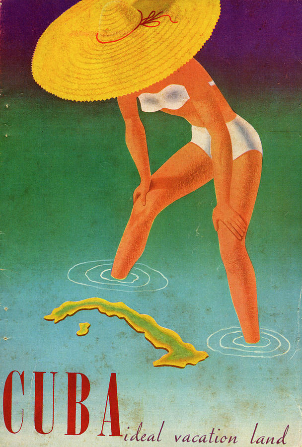 Cuba, Ideal Vacation Land Photograph by Jim Heimann Collection