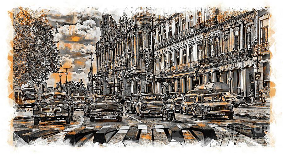 Cuba Traffic 1c by Mauro Celotti