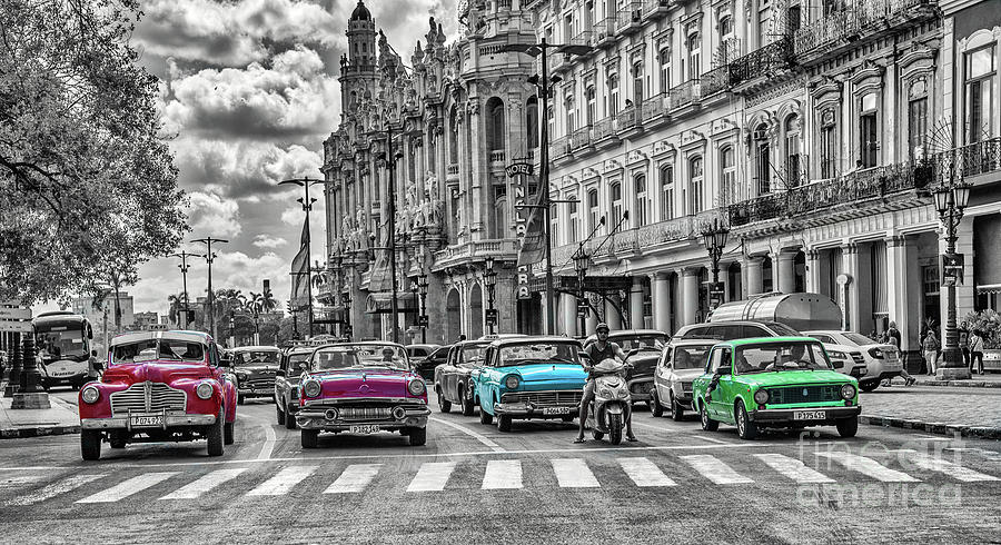Cuba Traffic 1d by Mauro Celotti