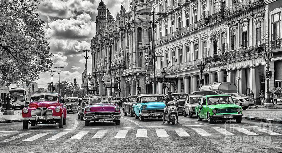 Cuba Traffic 1d by Mauro Celotti