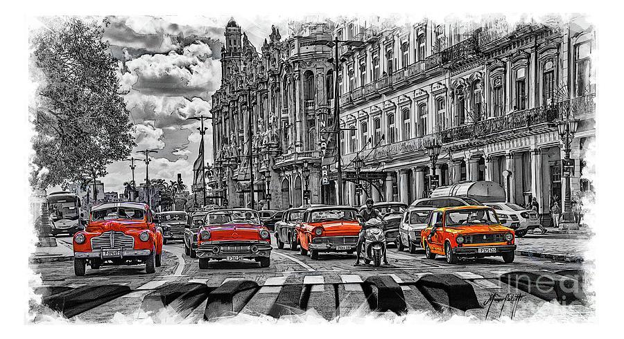 Cuba Traffic 1f by Mauro Celotti