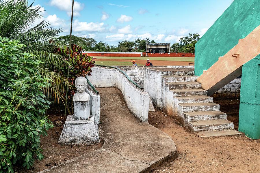 Cuban Baseball Field by Sharon Popek