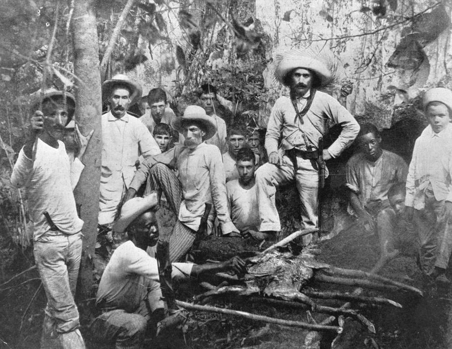 Cuban Rebels Photograph by Hulton Archive