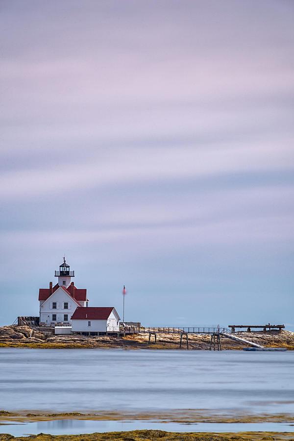 Cuckolds Lighthouse by Robert Fawcett