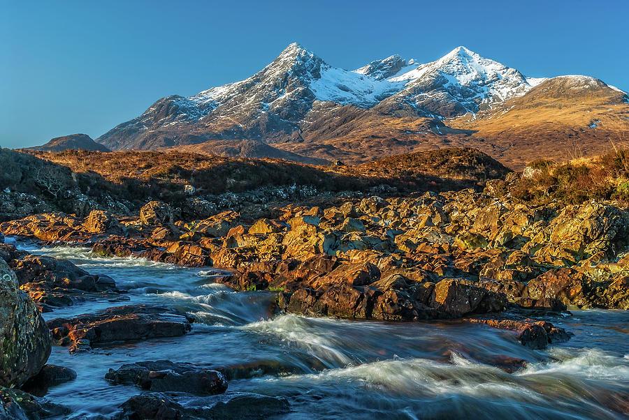 Cuillin Photograph - Cuillin Hills, Sligachan, Skye by David Ross
