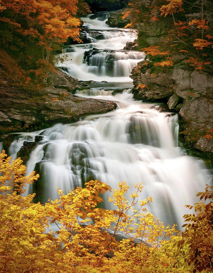 Cullasaja Falls by Will Moneymaker